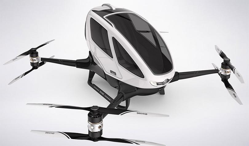 Posta Dubai: первый вмире пассажирский дрон начнет курсировать вДубае