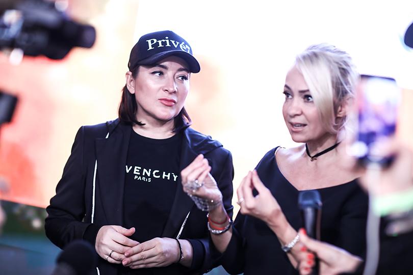 Ирина Митрошкина и Яна Рудковская