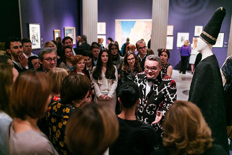 Art & More: юбилейная выставка Льва Бакста в Пушкинском музее. Другой экскурсовод — историк моды Александр Васильев