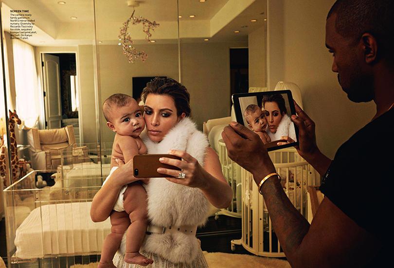 Психология успеха: Энни Лейбовиц. Как стать знаменитым фотографом. Ким Кардашян и Канье Уэст с дочерью
