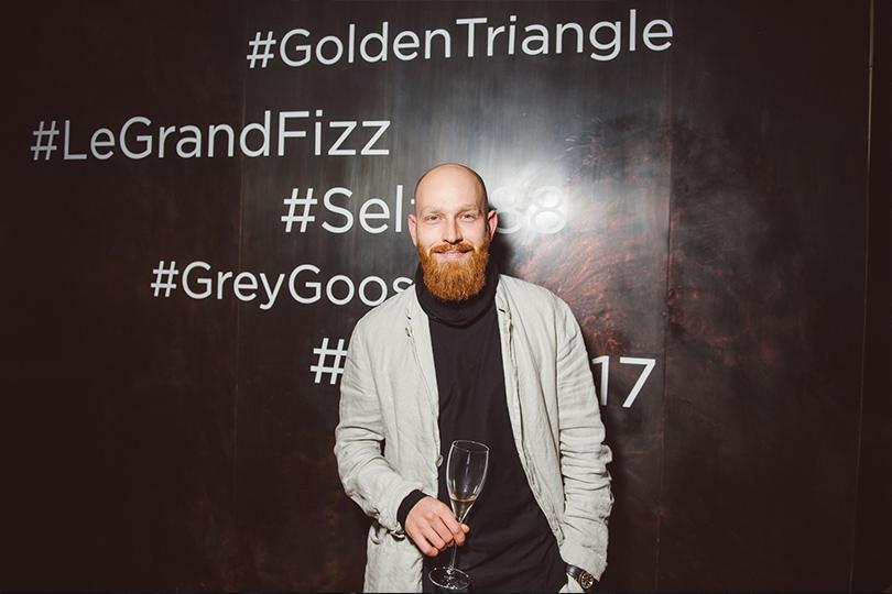 Юбилейный ужин Golden Triangle вресторане Selfie. Владимир Перельман