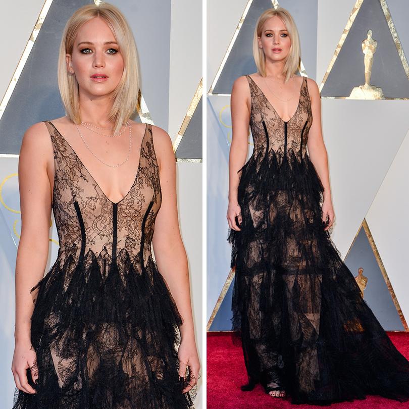 Oscars Special 2016: Дженнифер Лоуренс в Dior Couture