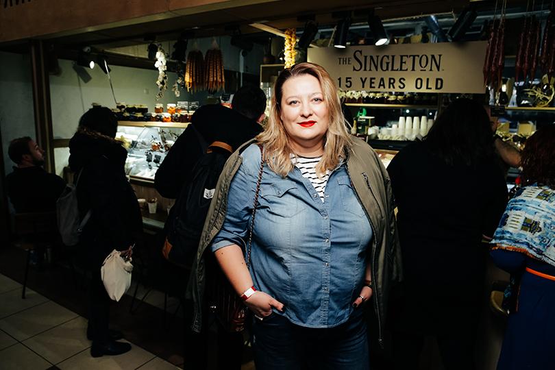 Светская хроника: The Singleton Night Market наУсачевском рынке. Мария Федорова