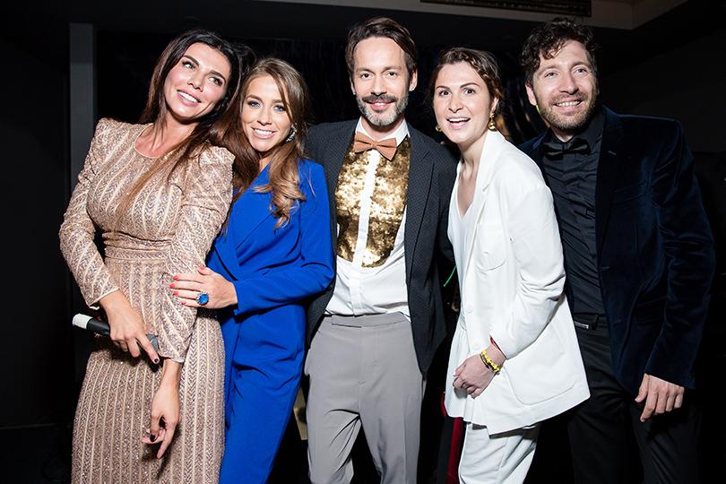 Светская хроника: вечеринка Carolina Herrera 212 VIP Wild Party. Анна Седокова, Юлия Барановская и Лаура Джугелия