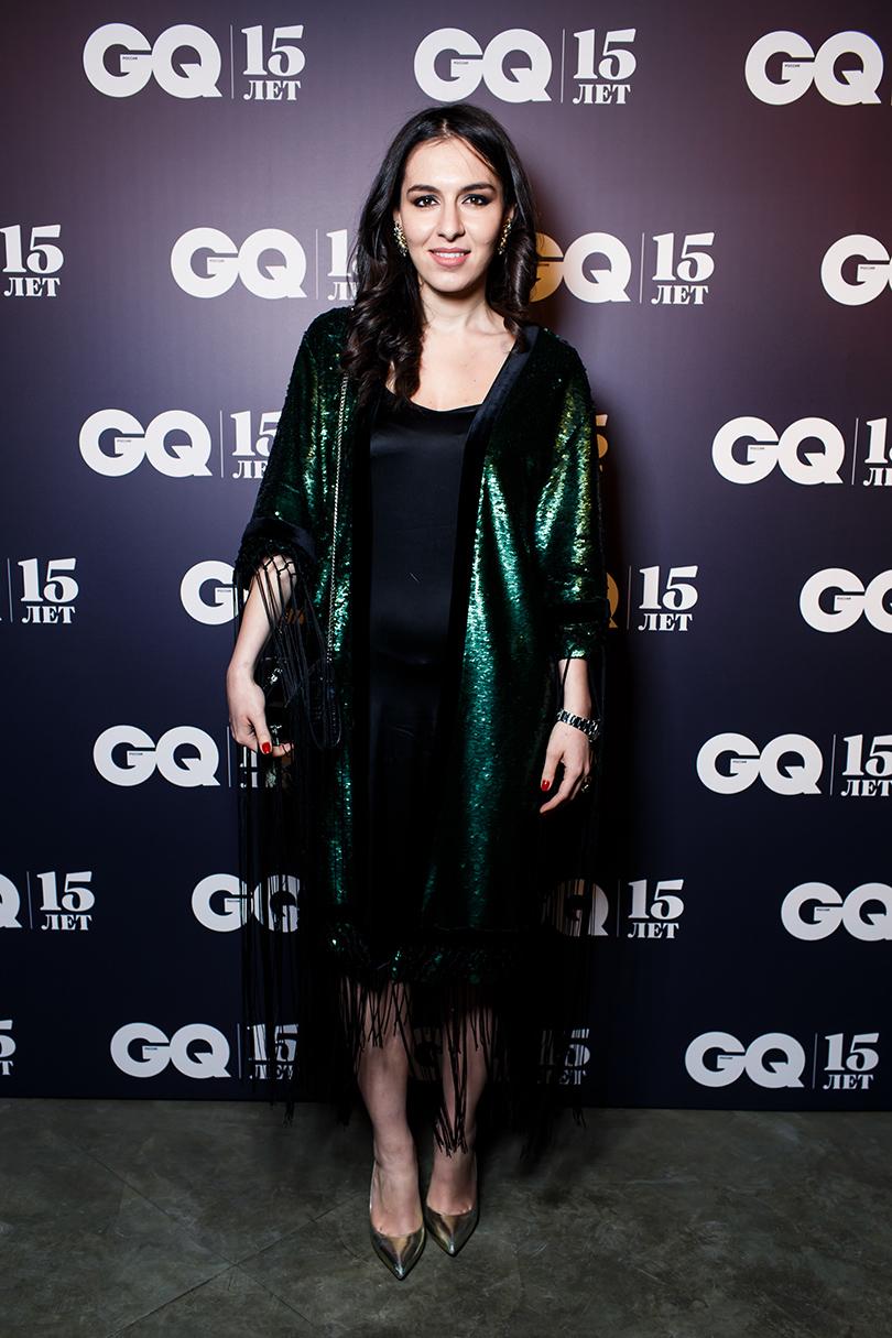 Вечер «100 самых стильных мужчин» по версии GQ: Элен Акопян