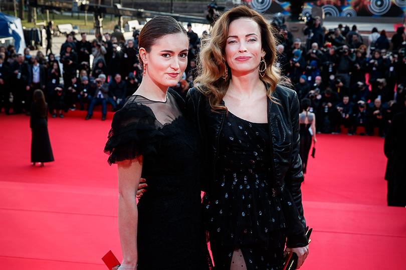 Церемония открытия 41-го Международного московского кинофестиваля. Рената Пиотровски и Ольга Зайцева