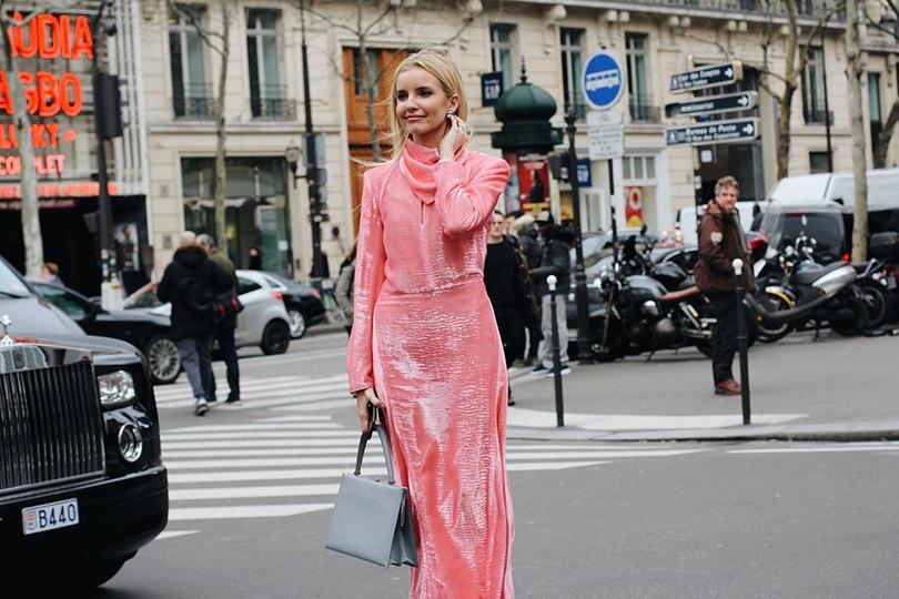 Street Style: лучшие образы уличной моды сParis Couture осень-зима— 2018. Наталья Якимчик