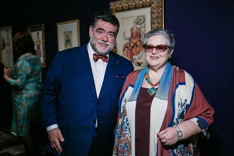 Art & More: юбилейная выставка Льва Бакста в Пушкинском музее. Михаил и Эдит Куснировичи