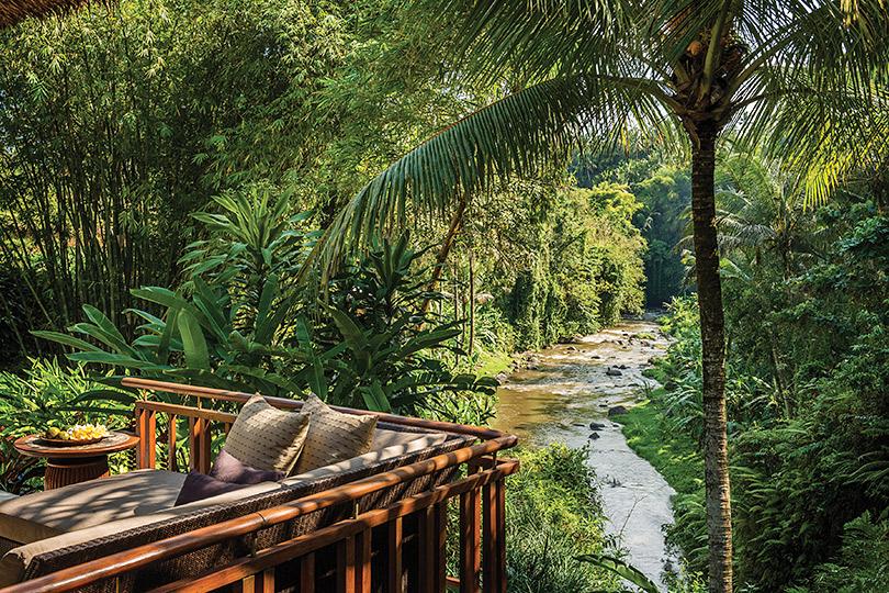 Два водном: идеальный отдых наБали. Убуд: Four Seasons Resort Bali atSayan