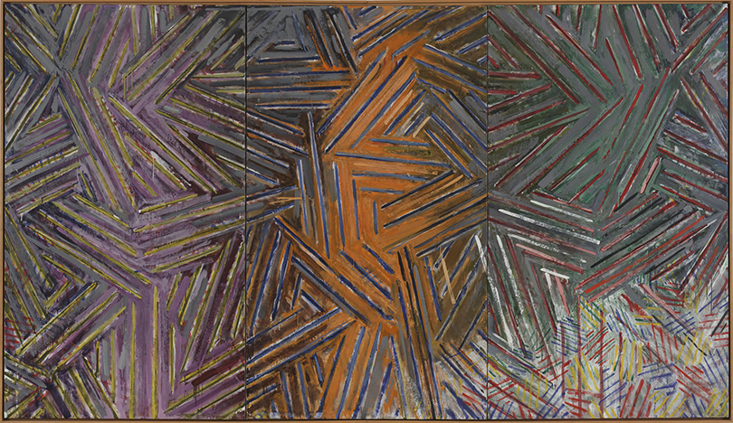 Art Weekend вмире: лучшие выставки ноября. ОтБосха досовременного дизайна. Джаспер Джонс. «Между часами икроватью», 1981г.