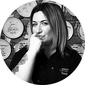 Елена Савчук, шеф-повар ресторана LavkaLavka