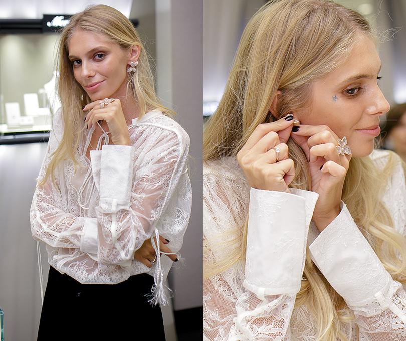 Коктейль Pasquale Bruni на Vogue Fashion's Night Out: Ясмина Муратович