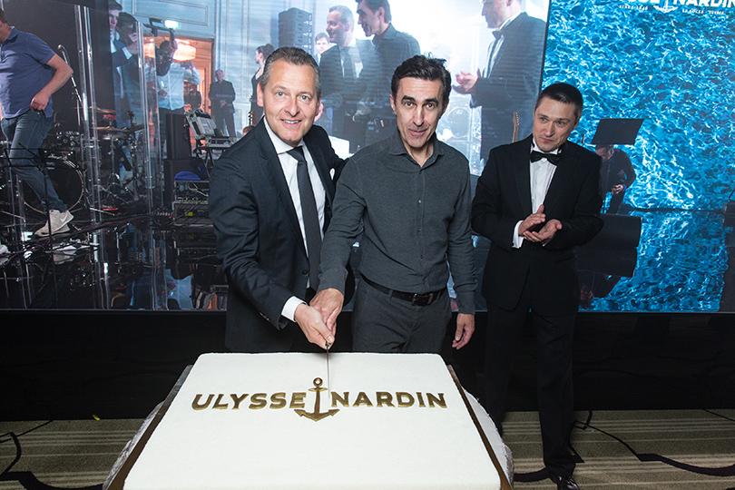 Светская хроника: Ulysse Nardin отпраздновали в Москве свой 170-й юбилей