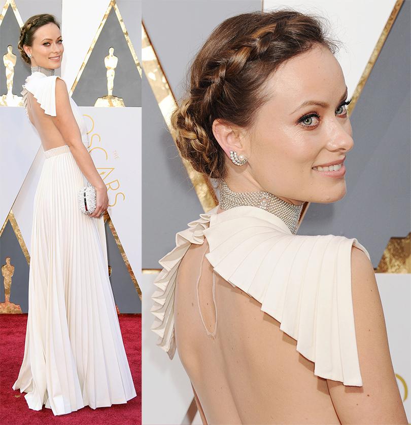 Oscars Special 2016: Оливия Уайлд в Valentino Haute Couture