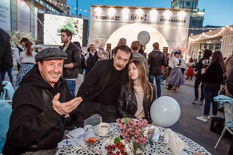 КиноТеатр: «Современник» отметил юбилей на Триумфальной площади. Александр Раппопорт и Владислав Ветров