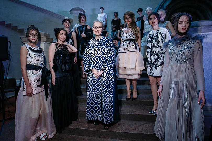 Art & More: юбилейная выставка Льва Бакста в Пушкинском музее. Ольга Свиблова и модели в платьях Antonio Marras