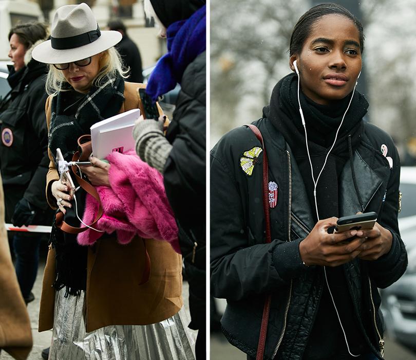 Street Style: эксклюзивные фотографии совторого дня Недели кутюра вПариже вобъективе ИноКо