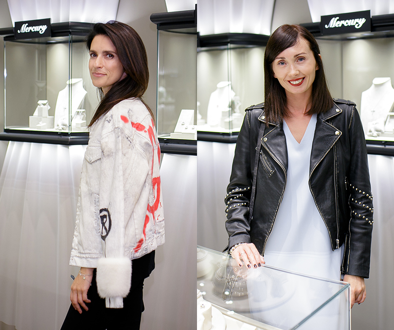 Коктейль Pasquale Bruni на Vogue Fashion's Night Out: Ксения Соловьева. Мария Железнякова