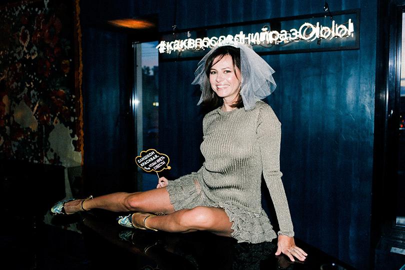 Светская неделя сИриной Чайковской: предсвадебный девичник Оксаны Лаврентьевой вресторане Big Wine Freaks. Оксана Лаврентьева