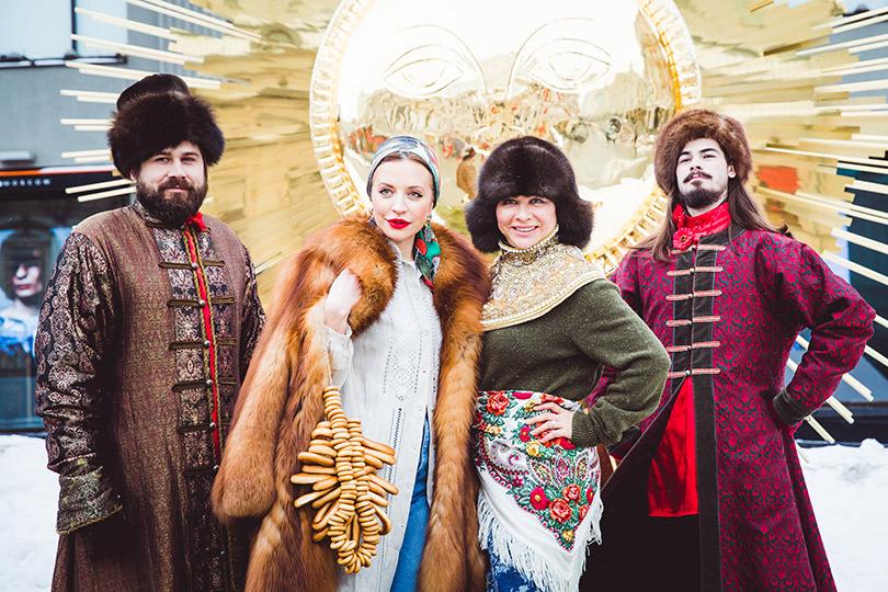 Светская неделя с Ириной Чайковской: празднование широкой Масленицы вЦУМе. Виктория Шелягова