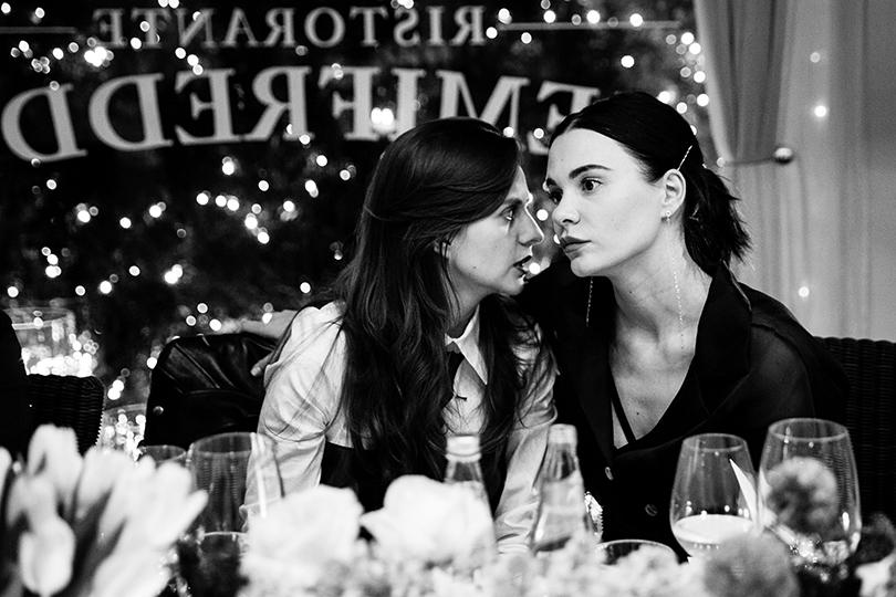 Эксклюзив: закрытый ужин Posta-Magazine и Anne Semonin в ресторане «Семифреддо». Юлия Прудько и Надя Миссбах