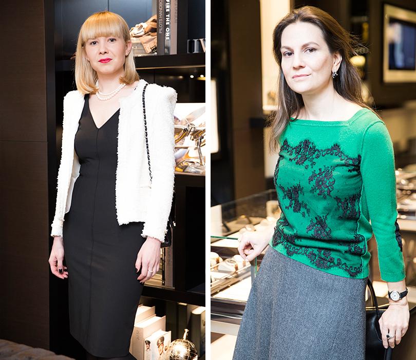 Екатерина Пугачева (справа)