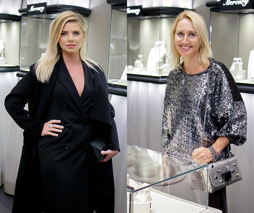 Коктейль Pasquale Bruni на Vogue Fashion's Night Out: Анастасия Задорожная. Оксана Бондаренко