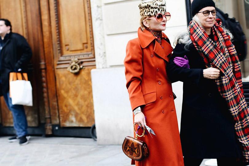 Street Style: лучшие образы уличной моды сParis Couture осень-зима— 2018. Катрин Баба