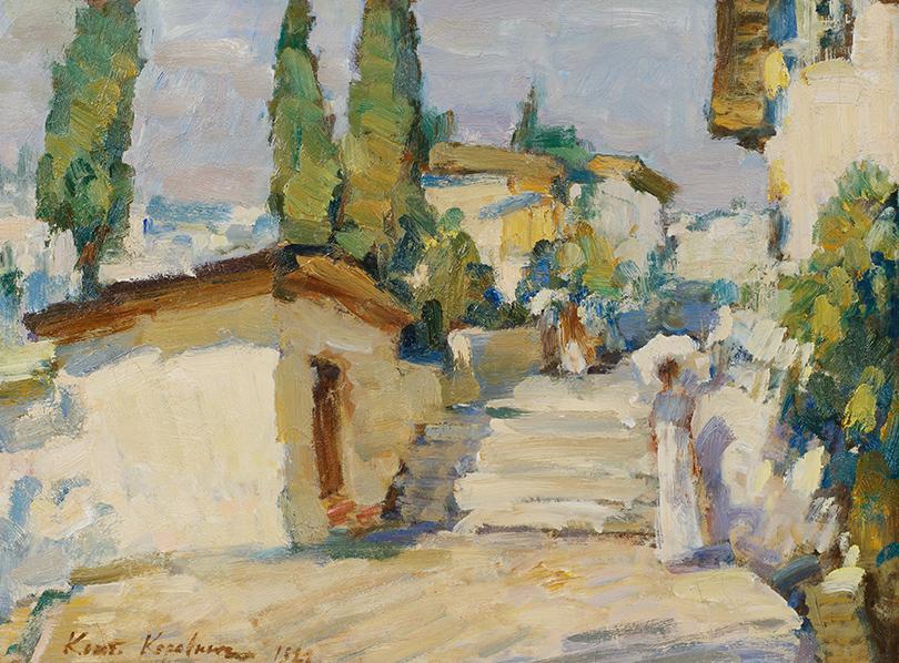 Константин Коровин. «Гурзуф» (1921г.)