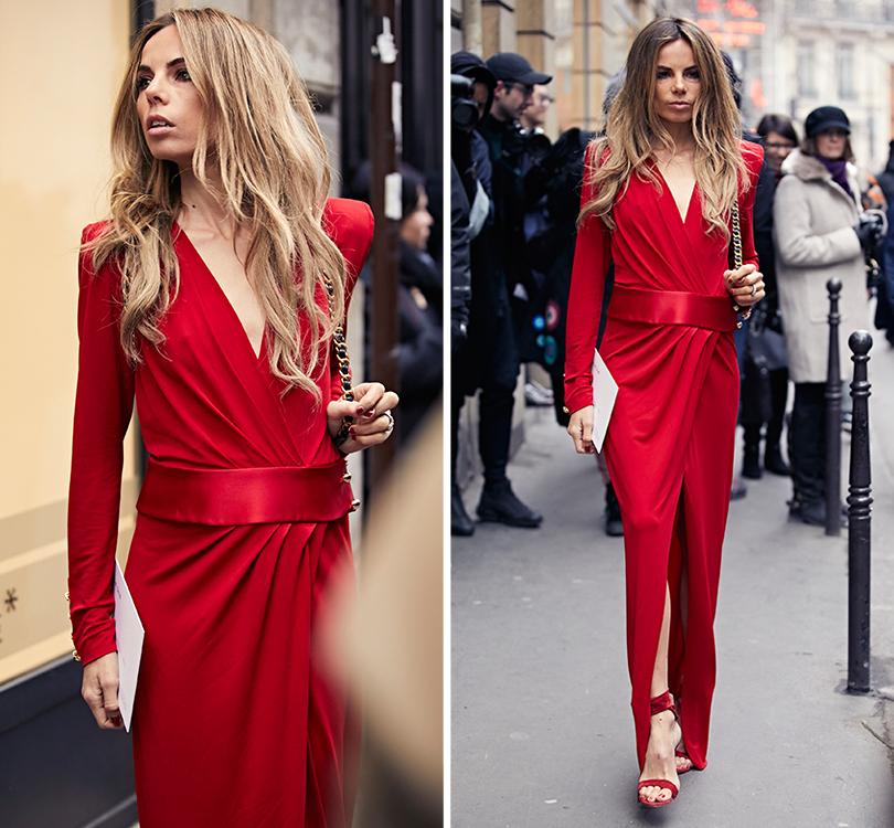 Street Style: эксклюзивные фотографии стретьего дня Недели Haute Couture вПариже вобъективе ИноКо. Эрика Пелосини