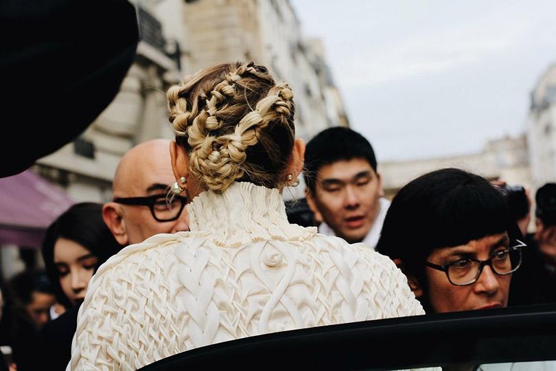 Street Style: лучшие образы уличной моды сParis Couture осень-зима— 2018. Марион Котийяр
