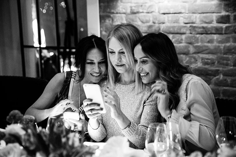 Эксклюзив: закрытый ужин Posta-Magazine и Anne Semonin в ресторане «Семифреддо». Ирина Чайковская, Дарья Михалкова и Милана Королева