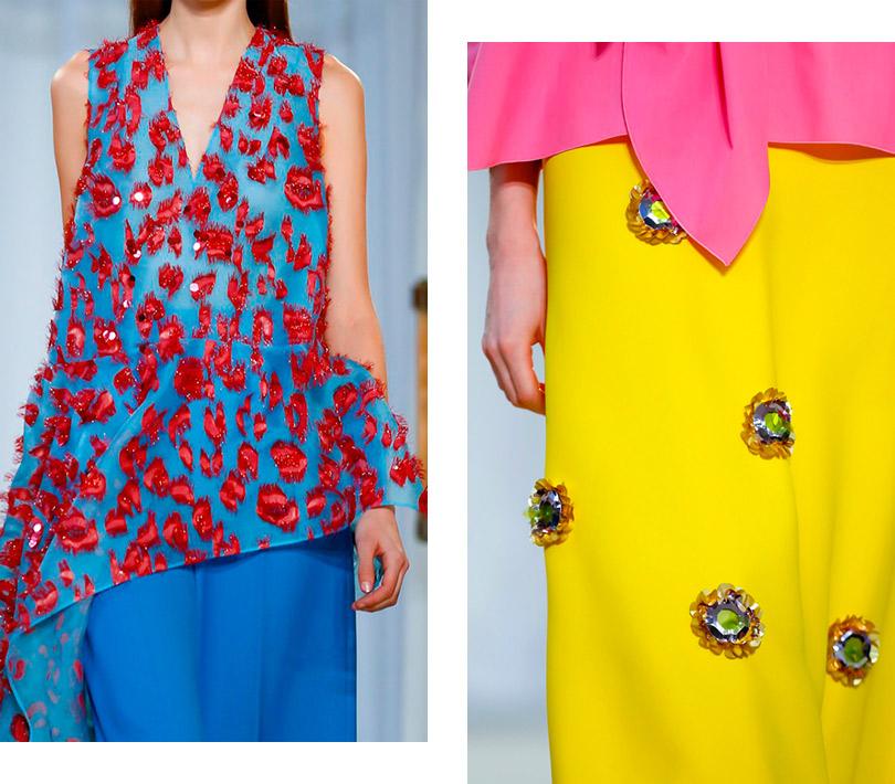 Цветочно-конфетный период Delpozo наНеделе моды вЛондоне