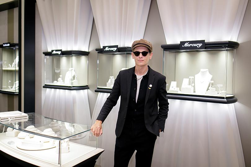 Коктейль Pasquale Bruni на Vogue Fashion's Night Out: Влад Лисовец