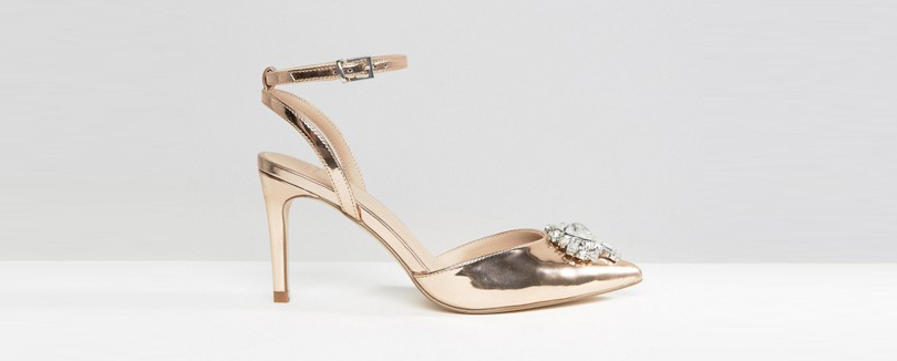 Новый год. Дресс-код: 28лучших пар обуви для новогодней вечеринки. Туфли ASOS изискусственной кожи