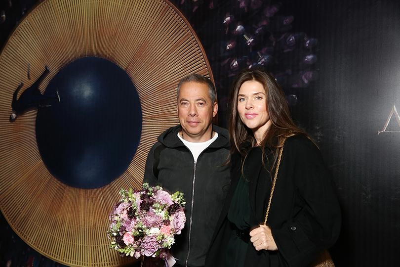 Аркадий Новиков с женой Надеждой