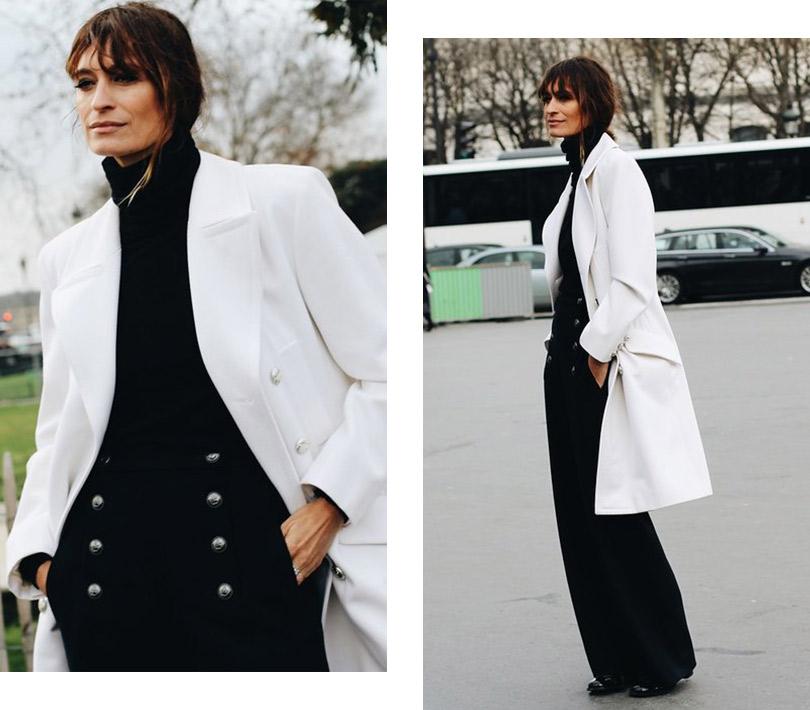 Street Style: лучшие образы уличной моды сParis Couture осень-зима— 2018. Каролин де Мегрэ