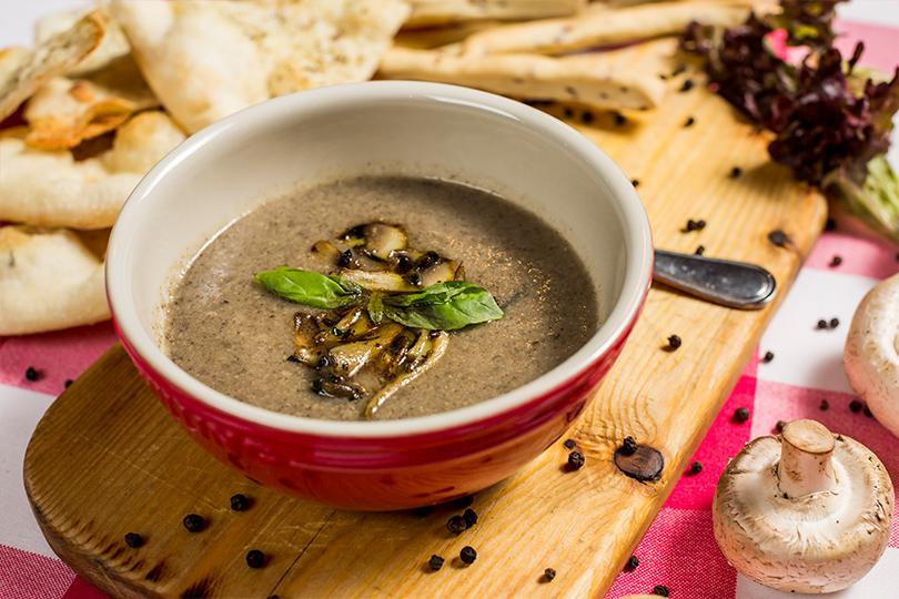 Piccolino. Грибной крем-суп