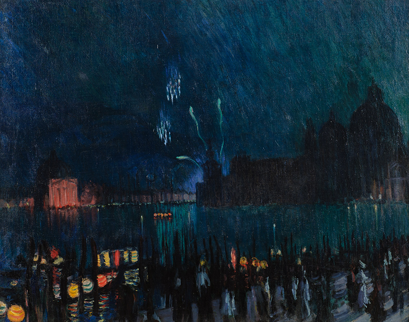 Борис Кустодиев. «Венеция» (1913г.)