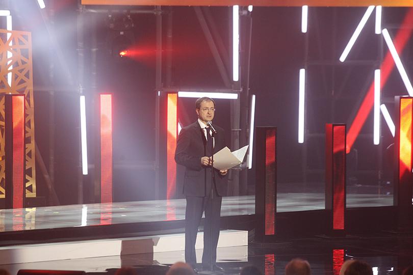 Церемония «Золотой орел-2015» на «Мосфильме»: Владимир Мединский