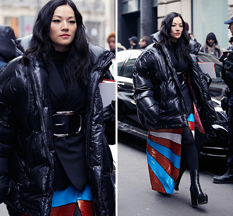 Street Style: эксклюзивные фотографии стретьего дня Недели Haute Couture вПариже вобъективе ИноКо