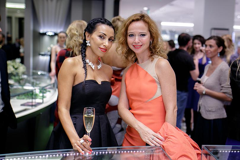 Коктейль Pasquale Bruni на Vogue Fashion's Night Out: Эуджения Бруни и Елена Захарова