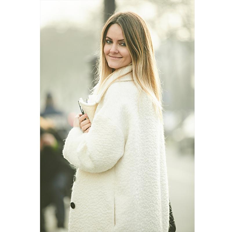 Street-Style: эксклюзивные фотографии с первого дня Недели кутюра в Париже в объективе Ино Ко. Екатерина Мухина