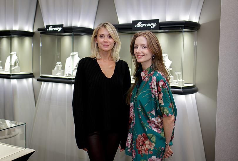 Коктейль Pasquale Bruni на Vogue Fashion's Night Out: Юлия Куприянова и Александра Скамницкая