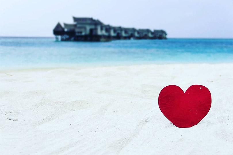 Чувственный маршрут: куда уехать наДень святого Валентина. Jumeirah Vittaveli, Мальдивы