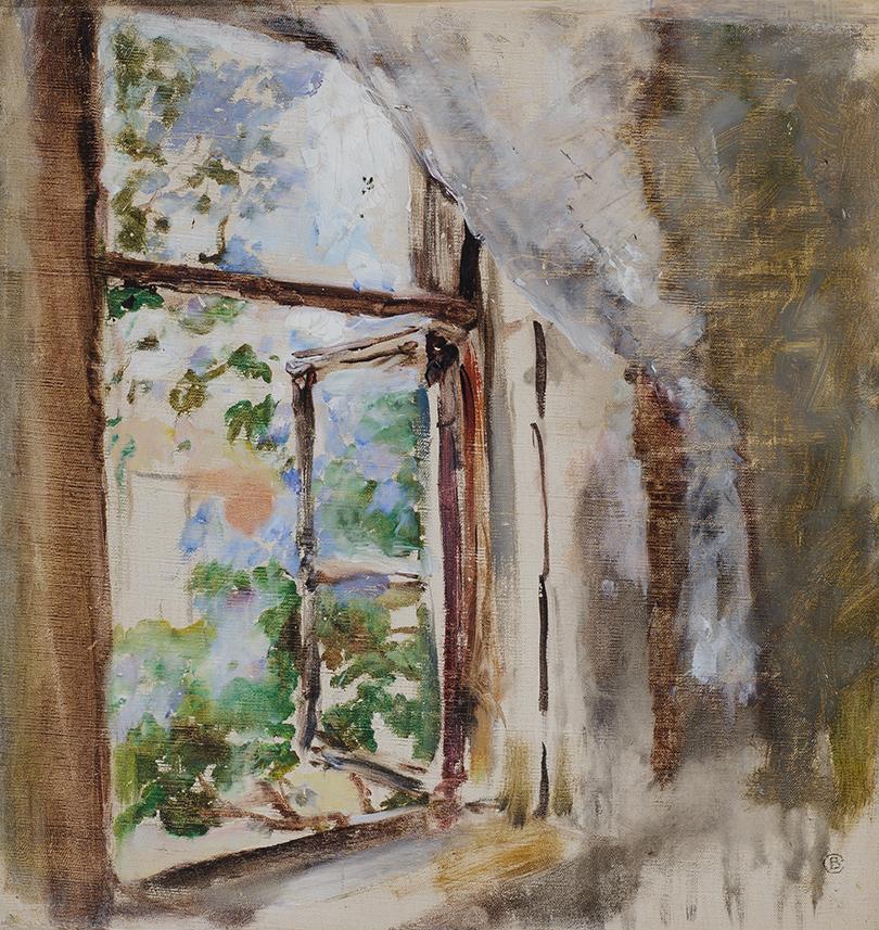 Валентин Серов. «Окно» (1987г.)