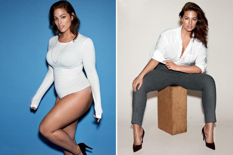 Эшли Грэм стала первой моделью plus size, попавшей втоп-10 журнала Forbes