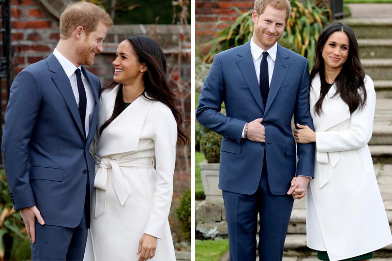 И тут я, вся в белом: пальто невесты принца Гарри Меган Маркл стало хитом продаж