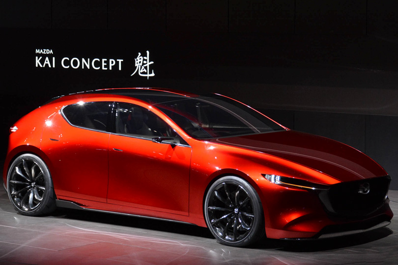Cars with Jan Coomans. Tokyo Motor Show— the latest from the land ofGodzilla. Mazda Kai