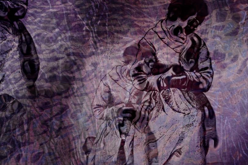Браха Л. Эттингер. Под водой: Плач Эвридики.2014